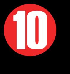 10 Records Logo