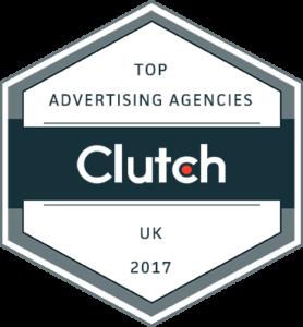 Clutch Top Advertising Agencies UK 2017 Badge
