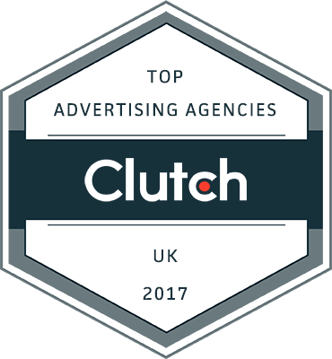 Clutch Top Advertising Agencies UK 2017 Badge
