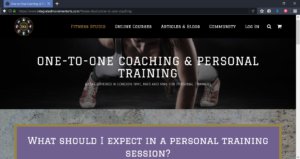 Integrated Movement Arts Personal Training