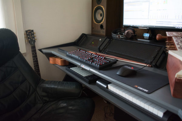 Hammy's Desk in Early 2017