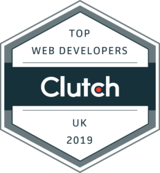 Clutch Top Web Developers UK 2019 Badge