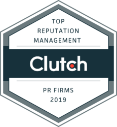 Clutch Top Reputation Management PR Firms 2019