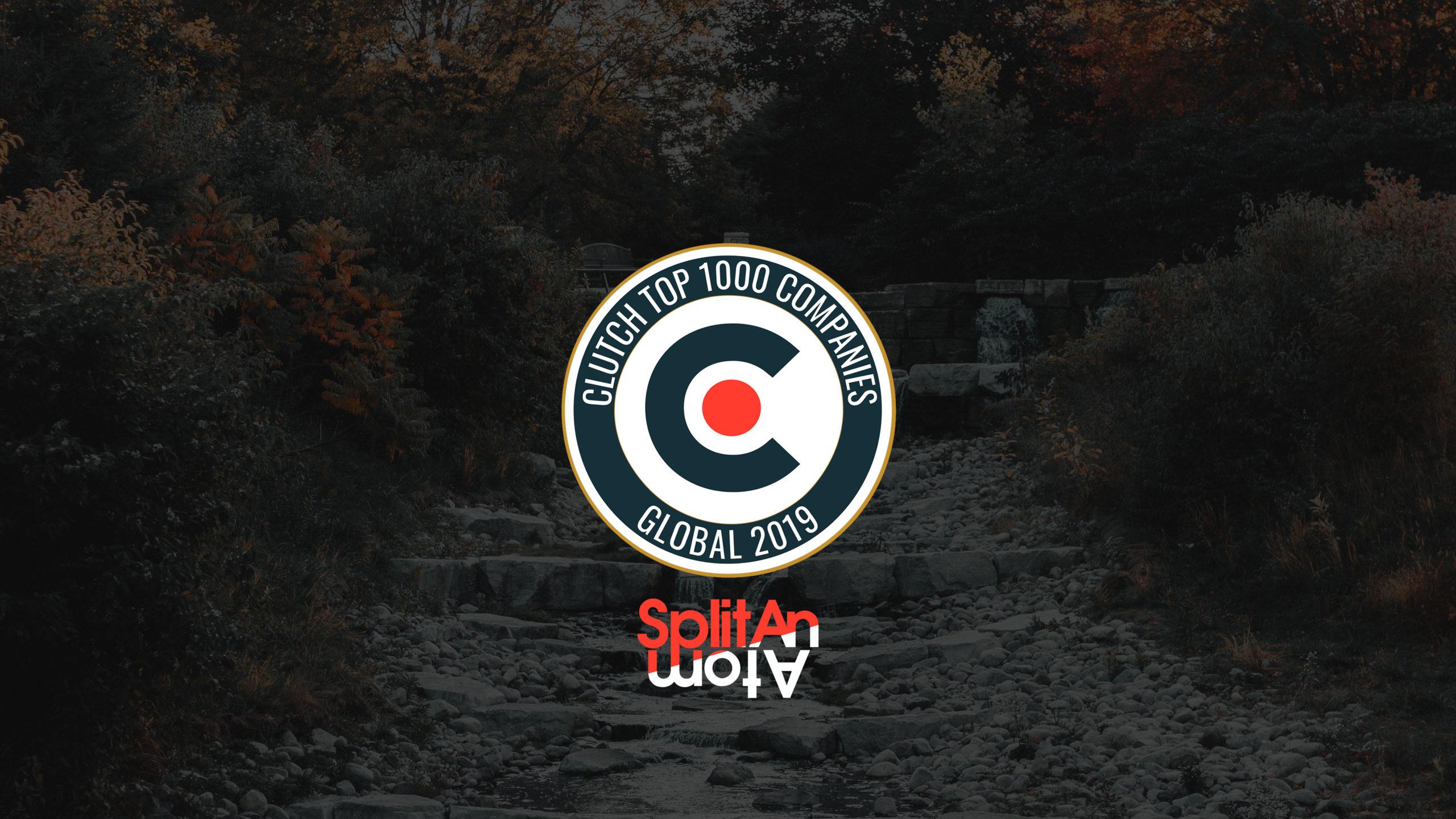 Clutch 1,000 Global 2019 Award