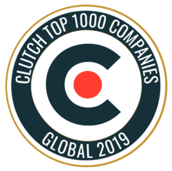 Clutch Top 1000 Companies Global 2019