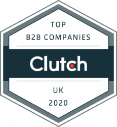 Clutch Top B2B Companies UK 2020 Award Badge
